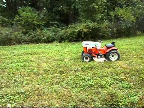 Sears 10XL Garden Tractor - YouTube