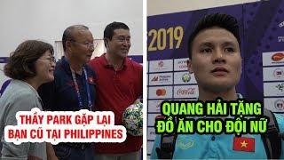 Thầy Park gặp lại bạn cũ, đội trưởng Quang Hải không ngại nắng chọn lợi gió thắng Lào