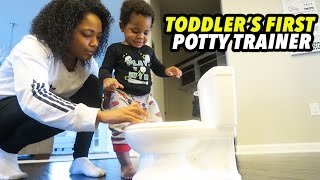 TODLER'S FIRST POTTY TRAINER!!