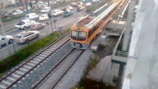 Biotren | Pasadas de automotores UT-440 por San Pedro De La Paz y puente ferroviario