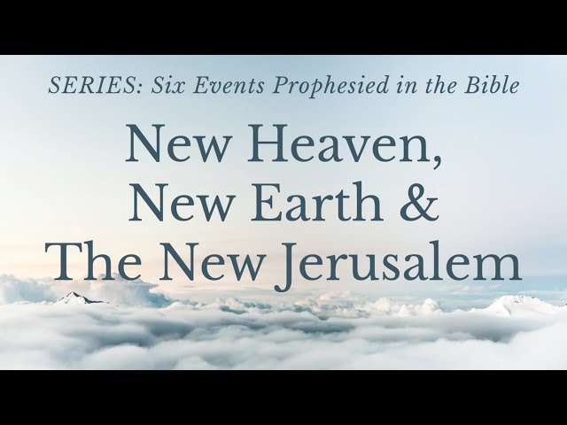 Bible Prophecy - Wednesday, May 12
