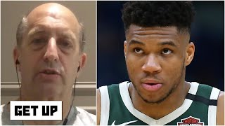 Jeff Van Gundy predicts the Bucks will win the 2019-20 NBA title if the season resumes | Get Up