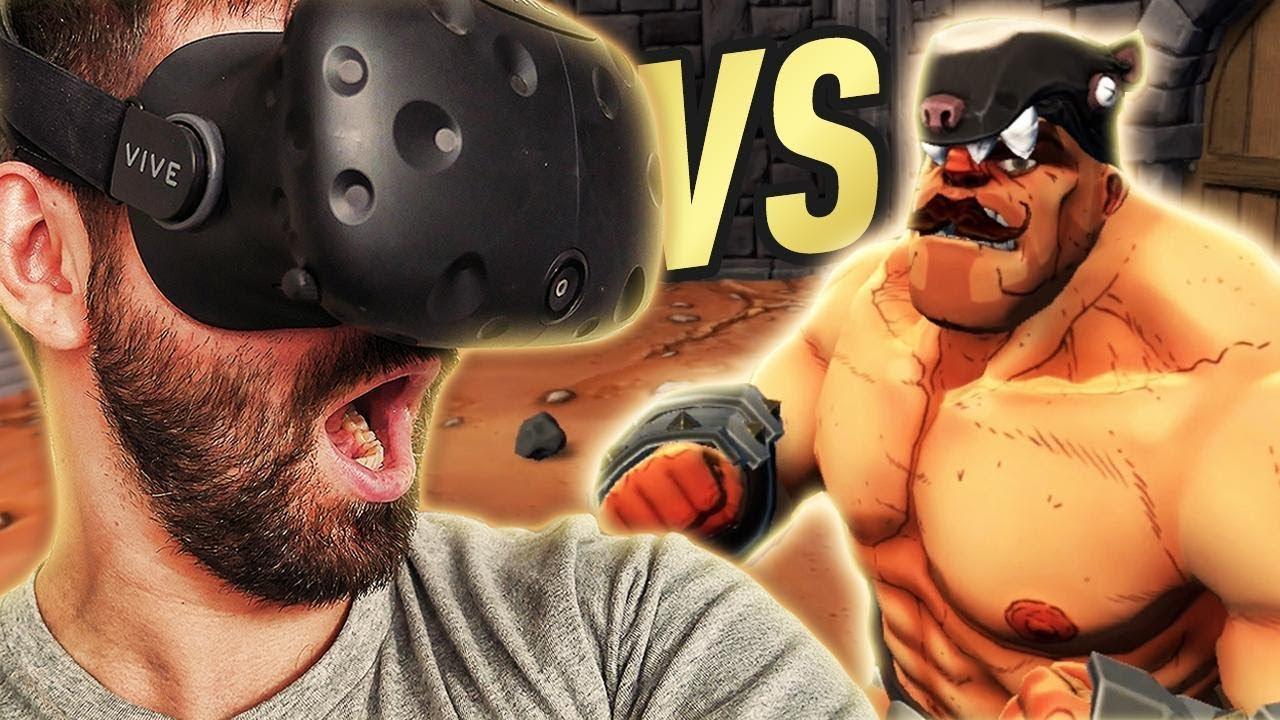 GORN #4 – Sou vs WŁADCA BORSUKÓW! HTC VIVE VR