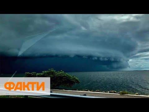 Ураган Дориан унес жизни 5 человек, скорость ветра достигает 300 км/ч