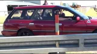 AHG Driving Day 6/6/09 - CRAZY Subaru Liberty/Legacy