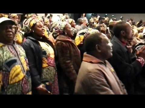 The Jerusalem Pilgrim Ceremony of Bauchi State Pilgrims from Nigeria. Jerusalem. Israel