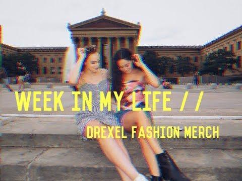 WEEK IN MY LIFE // DREXEL FASHION MERCHANDISING PROGRAM