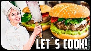 ✿ LET`S COOK ✿ Домашний бургер с АВОКАДО ♥