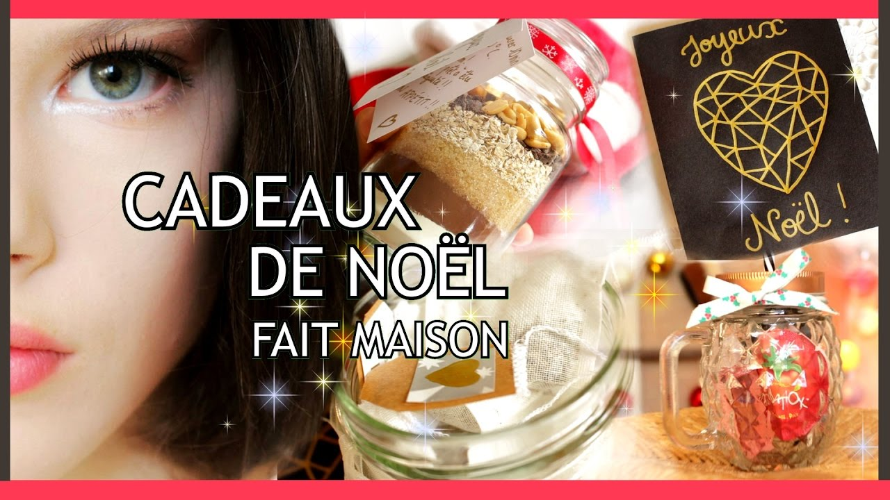 diy cadeaux de no l faits maison 2016 derni re minute christmas gifts id as claire youtube. Black Bedroom Furniture Sets. Home Design Ideas