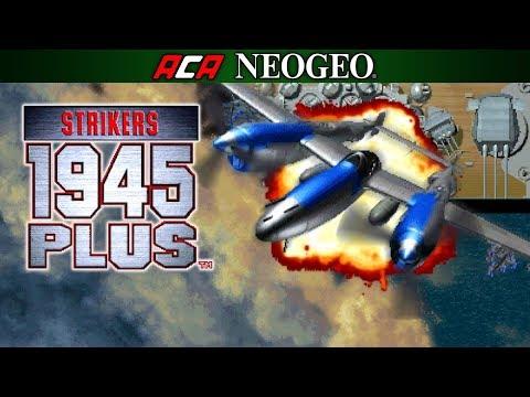 Aca NeoGeo Strikers 1945 PLUS - Gameplay - Xbox One