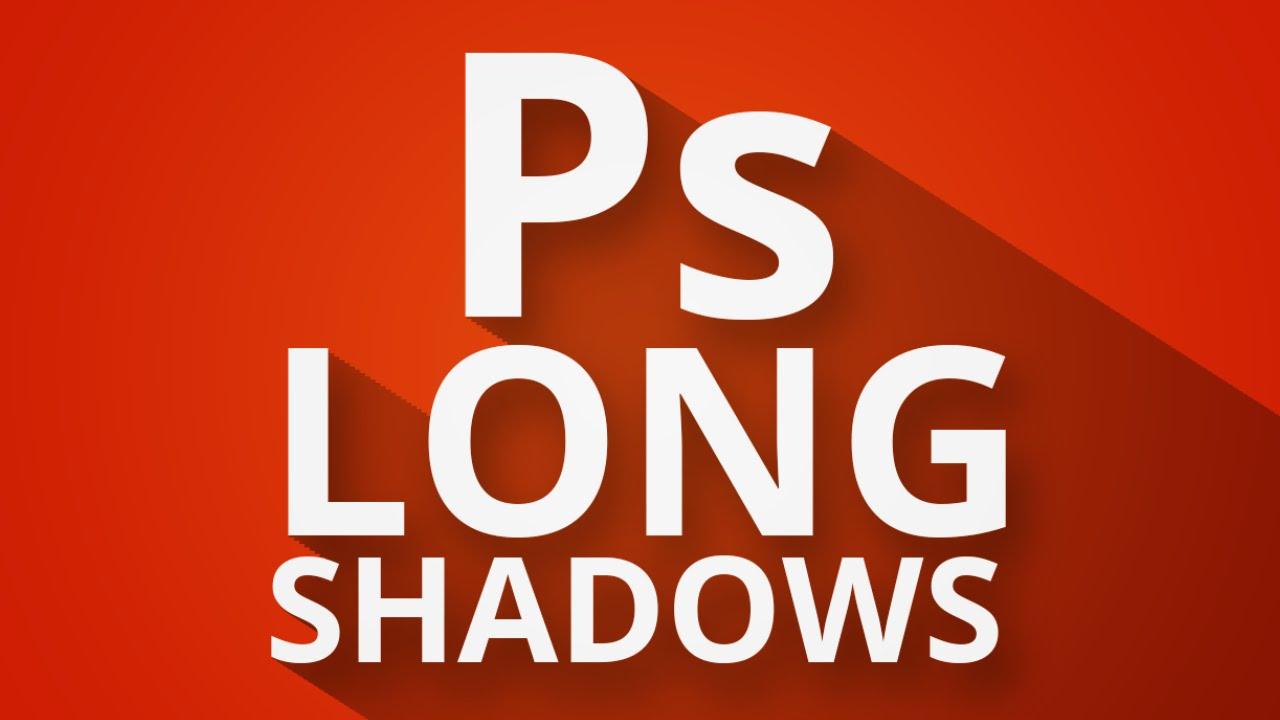 The Sweet Long Shadow Effect | Photoshop Tutorial