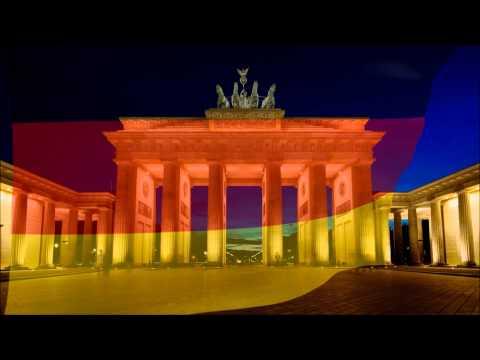 Bundesrepublik Deutschland, Federal Republic of Germany (Germany) flag & anthem