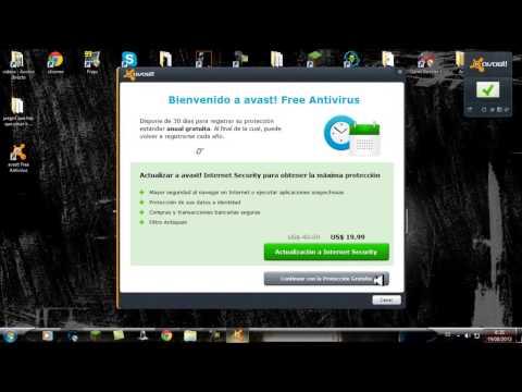 Descargar E Instalar Avast Free Antivirus Con Licencia Hata El 2015