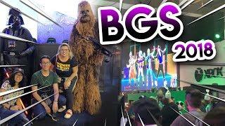VLOG: BGS 2018 - BRASIL GAME SHOW | DOMINGO (14/10)