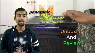 Panasonic SC-HT40GW-K Bluetooth Home Audio Speaker, Unboxing and review.