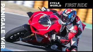 2019 Ducati Panigale V4 R First Ride Review
