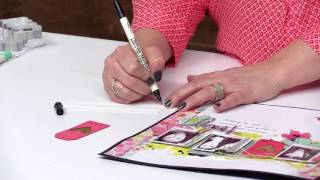 How to Use Pens and Markers in Your Scrapbook