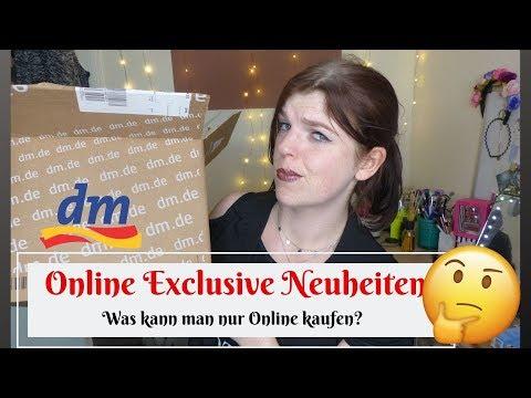 😱DM Online Exclusive Neuheiten Haul // Welche Produkte bekommt man nur Online 📦