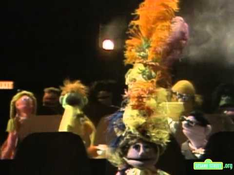 Sesame Street   Ernie And Bert At The Movies Tall Hat Lady
