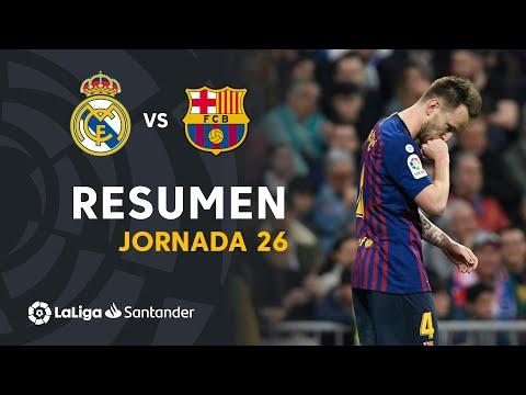 Resumen de Real Madrid vs FC Barcelona (0-1)