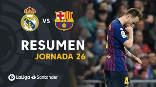 Resumen de Real Madrid vs FC Barcelona (0-1)