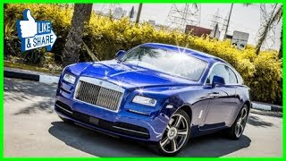 Most Expensive and Luxury Cars in Dubai. Dubai Sport Cars 2018. Rare and Expensive Vehicles in UAE