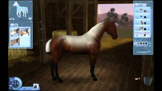 A Horse in The Sims 3