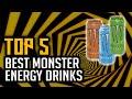 Gambar cover Top 5 Best Monster Energy Drinks In 2020