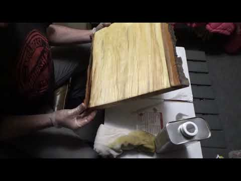 Sanding And Finishing Live Edge Slabs And DIY Tube Work