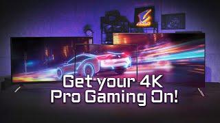 次世代 AORUS 4K ゲーミング・ディスプレイ (YouTube 字幕あり)