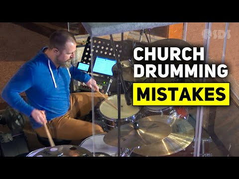 DRUM LESSON - 3 Tips for Drumming in Church