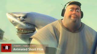"CGI 3D Animation Short ""BIG CATCH"" Hilarious Animation Kids Cartoon by Moles Merlo"