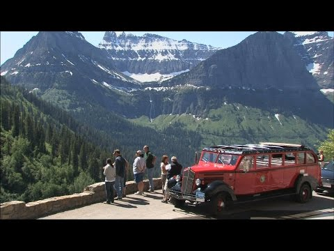 Red Bus Tour - Glacier National Park