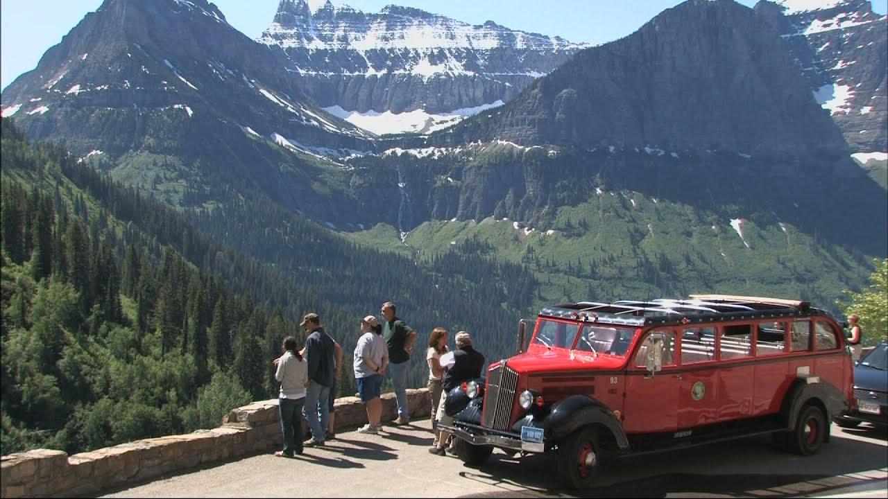 The Red Bus Tour Glacier Park