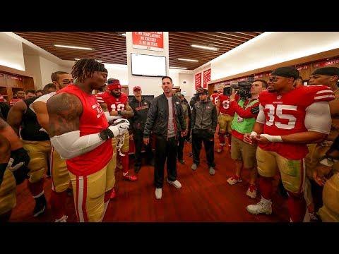 49ers Week 15 Postgame Victory Speech