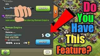 How Many Views Did Your replay Got? || Clash of Clans || Update Concept/Idea ||