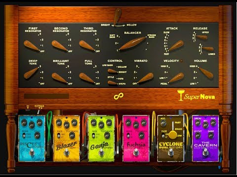 Champagne SuperNova 1930s Vintage Synth - Rack Extension for Reason - Brilliant