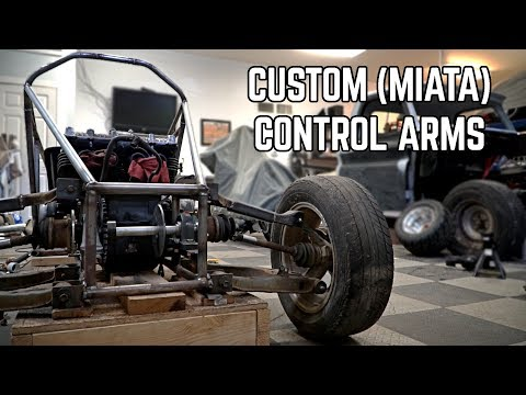 IRS Control Arms!   750cc Cross Kart Pt  8 - YouTube