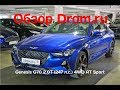 Genesis G70 2018 2.0T (247 л.с.) 4WD AT Sport - видеообзор