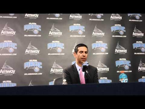 James Borrego Chicago Bulls Postgame Interview