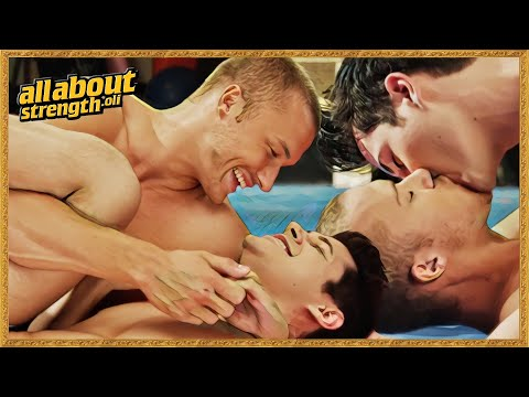 It's Really Not Gay, In ANY WAY! (Gay Kiss Scenes 1080p HD)