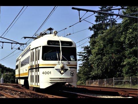 Pittsburgh Streetcar Scenes-1991 video in the Suburban Area