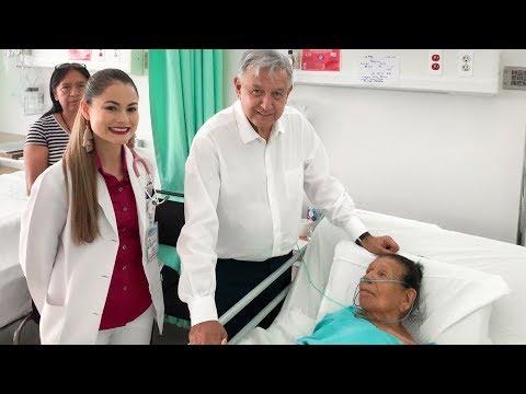 Saludo A Paciente En Hospital Rural Vicente Guerrero, Durango