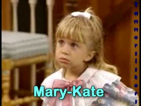 how to tell the olsen twins apart on full house