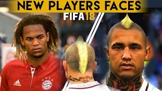 Fifa 18 - official player faces - radja nainggolan , renato sanches & more