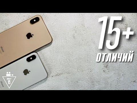 Полное сравнение IPhone XS и XS Max