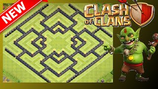 """NEW AWESOME TH10 Farming Base! """"The Shield"""" 