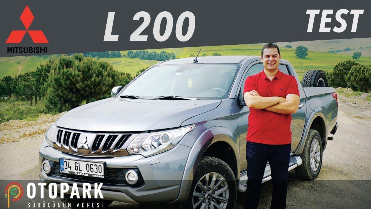 Yeni Mitsubishi L200 4x4 2020 Test