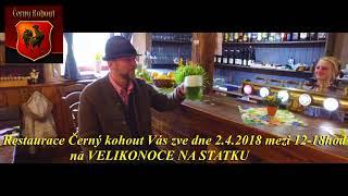 Restaurace Cerny kohout Velikonoce