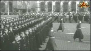 7 ноября 1958г. Москва. Красная площадь. Военный парад.
